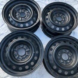 Шины, диски и комплектующие - Диски штампованные r16 на митцубиси, 0