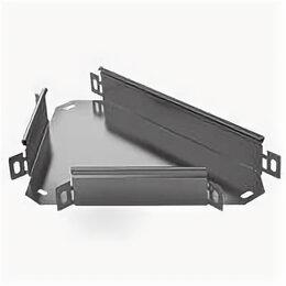 Кабеленесущие системы - Ответвитель Т-образный ST 300х80 0.7мм оцинк. ASD-electric STT.3008.07, 0