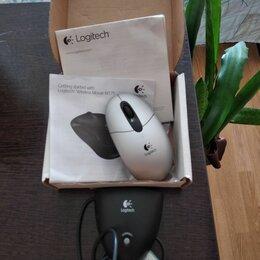 Комплекты клавиатур и мышей - Logitech беспроводная мышь, 0