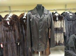 Куртки - Курка мужская кожаная, 0