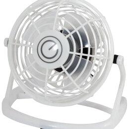 Вентиляторы - Настольный вентилятор USB Energy черный (новый), 0