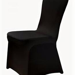 Чехлы для мебели - Чехол универсальный на стул из бифлекса цвет черный, 0