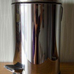 Мусорные ведра и баки - Металлическое мусорное ведро с педалью, 0