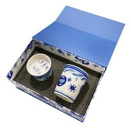 Цветы, букеты, композиции - НОВЫЙ ГОД 2021 Гжельский фарфоровый завод Подарочный набор свечей в коробке, 0