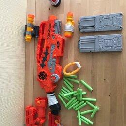 Игрушечное оружие и бластеры - Бластер nerf зомби страйк выживший, 0