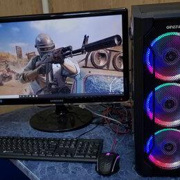 Настольные компьютеры - Пк (R5-2600/16GB/SSD128/1TB/GTX1060 6GB), 0