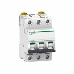 Защитная автоматика - Автомат Schneider Electric iC60N Acti9 3п C 32А 6кА, 0