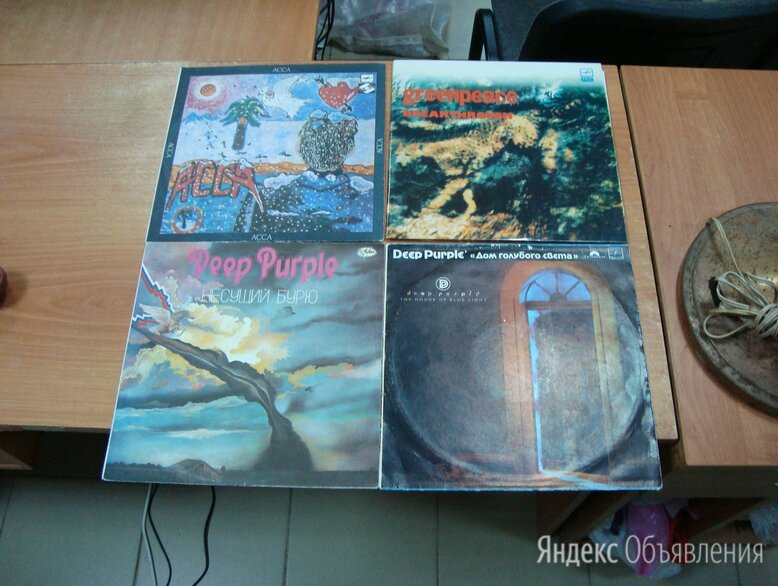Пластинки виниловые разные по цене 400₽ - Виниловые пластинки, фото 0