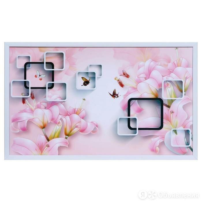 Картина 'Геометрия цветов' 60х100(65х105) см по цене 1579₽ - Септики, фото 0