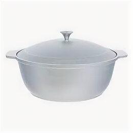 Кастрюли и ковши - Кастрюля-жаровня из литого алюминия 3 л, 0