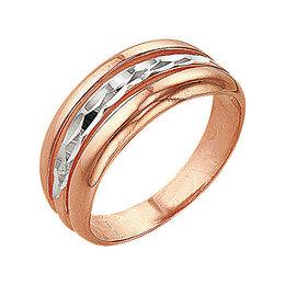 """Свадебные украшения - Кольцо """"Обручальное"""" трио, позолота, 18 р-р, 0"""