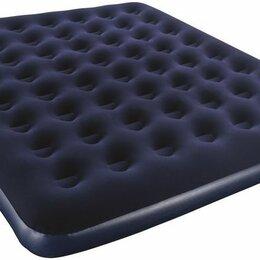 Круги и матрасы  - Матрас надувной 2х местн. с насосом 205*180*25 см , 0