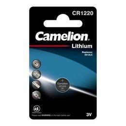 Батарейки - Элемент питания литиевый CR CR1220 BL-1 (блист.1шт) Camelion 3071, 0