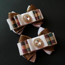 Дизайн, изготовление и реставрация товаров - Бантики и галстук из репсовой ленты, 0