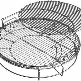 Решетки - Аксессуар к грилю BIG GREEN EGG Набор многоуровневых стальных решеток для гри..., 0