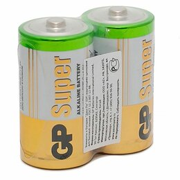 Батарейки - Батарейка GP Super C (LR14) 14A алкалиновая, OS2, 0