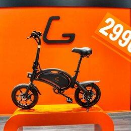 Велосипеды - Электровелосипед kugoo v1 black, 0