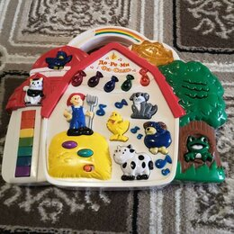 Развивающие игрушки - Ферма музыкальная, 0