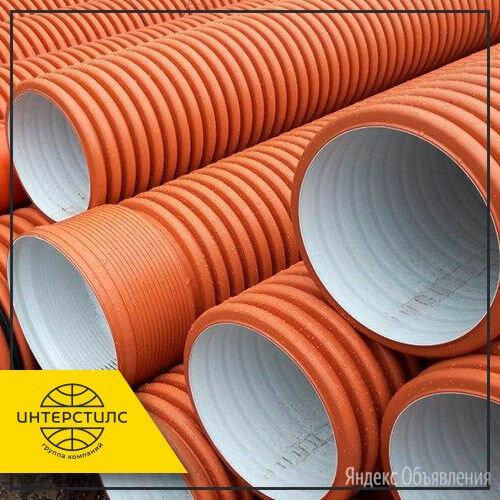 Труба гофрированная SN8 250х213 мм ГОСТ Р 54475-2011 по цене 1160₽ - Водопроводные трубы и фитинги, фото 0