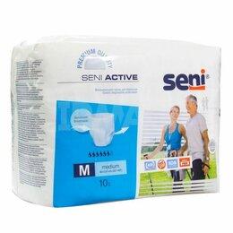 Устройства, приборы и аксессуары для здоровья - Сигма Мед Сени Актив - Seni Active впитывающие трусы для взрослых, M, 10 шт., 0
