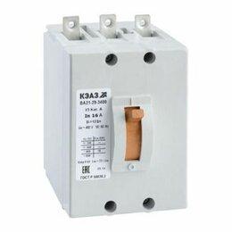 Пускатели, контакторы и аксессуары - Автоматический выключатель ВА-2129-340010-12In 2А, 0