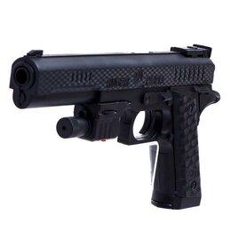 Игрушечное оружие и бластеры - Пистолет «Агент», с лазером, 0