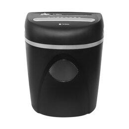Машинки для уничтожения бумаг - Уничтожитель документов CD пластиковые карты скрепки скобы ГЕЛЕОС, DIN P-4, 0