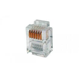 Аксессуары для сетевого оборудования - Телефонный коннектор для розетки TWT PL12-6P6C/100, 0