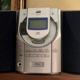 Музыкальные центры,  магнитофоны, магнитолы - Музыкальный центр JVC UX-V3 (CD+Tuner+Кассетник), 0