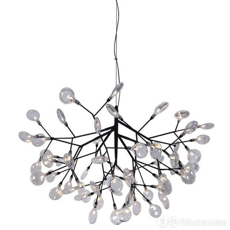 Подвесная люстра Crystal Lux Evita SP63 BLack/Transparent по цене 61900₽ - Люстры и потолочные светильники, фото 0