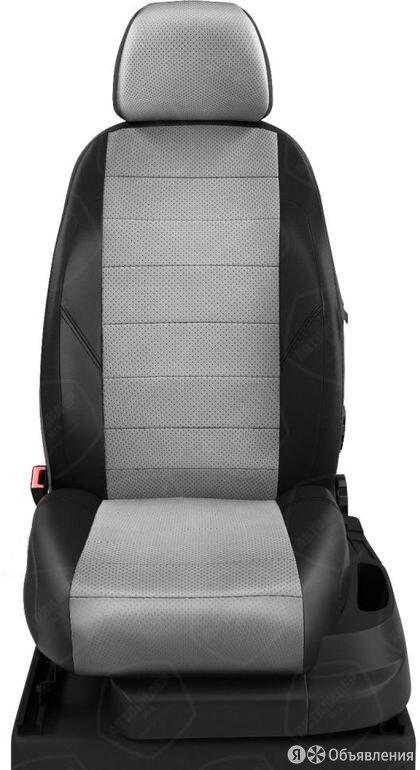 Чехлы на сидения Skoda Yeti 2010 2020 Черный/Светло-серый (арт.SK23-0303-EC07) по цене 7190₽ - Аксессуары для салона, фото 0