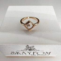 Кольца и перстни - Кольцо женское медицинское золото (гальваника), 0
