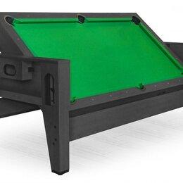 Столы - NULL Cтол-трансформер «Twister» 3 в 1 (бильярд, аэрохоккей, настольный теннис..., 0