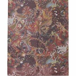 Накидки - Темный шелковый палантин Club Seta 30456, 0