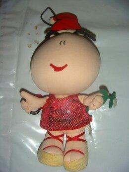Мягкие игрушки - Мягкая игрушка китайский дед мороз винтаж 90х, 0