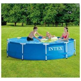 Бассейны - Intex бассейн каркасный metal frame 305x76см 4485л, 0