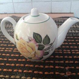 Заварочные чайники - Заварочный чайник фарфоровый ссср вербилки, 0