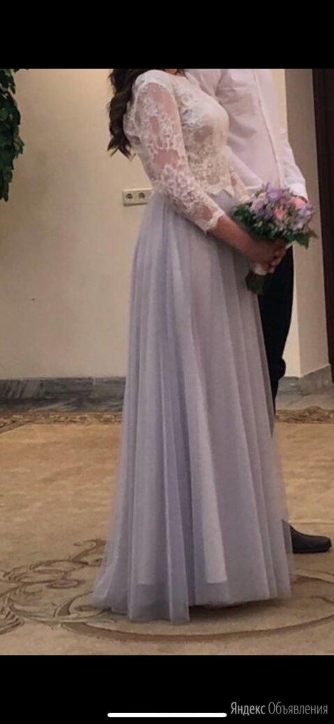 Свадебные платья юбка в пол и кружевной топ по цене 4000₽ - Платья, фото 0