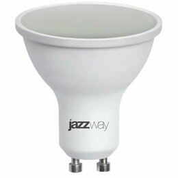 Лампочки - Лампа светодиодная PLED-SP FR 11Вт GU10 5000К 920Лм 50х54мм JazzWay, 0