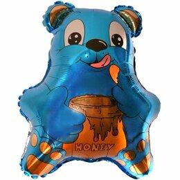 Дизайн, изготовление и реставрация товаров - Шар Медвежонок, синий, 0