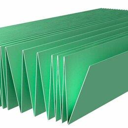 Подложка - Подложка-Гармошка (Зеленая) 1050*250*3мм 1уп/5,25м2, 0