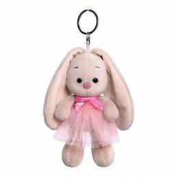 Брелоки и ключницы - Зайка Ми Мягкая игрушка-брелок «Зайка Ми в розовой юбке и с бантиком», 14 см, 0