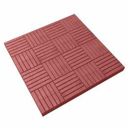 "Тротуарная плитка, бордюр - Тротуарная плитка ""Паркет"" 300х300х30, 0"