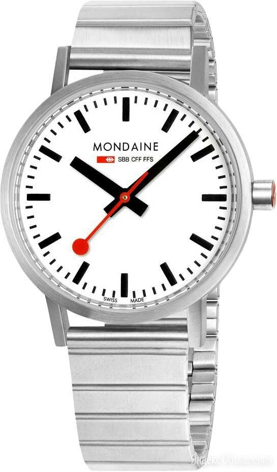 Наручные часы Mondaine A660.30360.16SBJ по цене 23700₽ - Наручные часы, фото 0