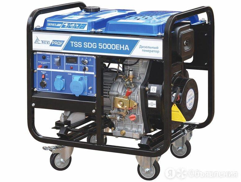 Дизель генератор TSS SDG 5000EHA по цене 67340₽ - Прочее, фото 0
