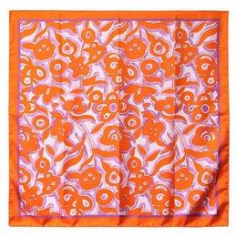 Головные уборы - Стильный оранжевый платок Клаб Сета 30370, 0