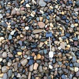 Строительные смеси и сыпучие материалы - ГАЛЬКА речная цельная-дробленая , 0