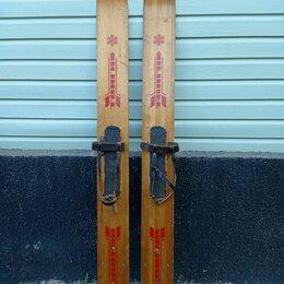 Аксессуары и комплектующие - Лыжи охотничьи Тайга, длина 170см, ширина 15.5см, 0