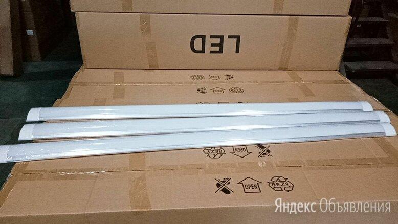 Линейный LED светильник 1200*75*25 мм 40 вт по цене 350₽ - Настенно-потолочные светильники, фото 0
