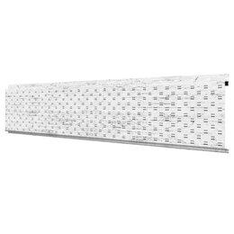 Стеновые панели - Софит, линеарная потолочно-стеновая панель ПЕРФОРИРОВАННАЯ Беленый Дуб Print..., 0
